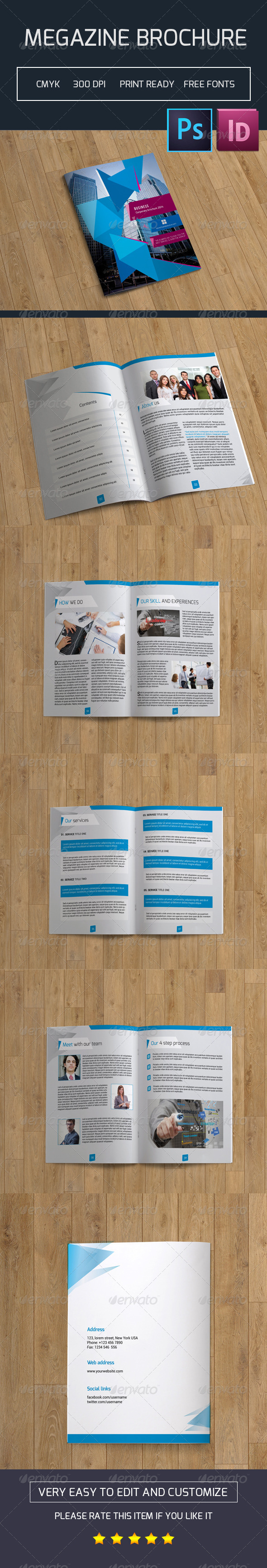 Corporate Bifold Brochure-V03