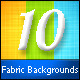 10 Fabric Backgrounds - GraphicRiver Item for Sale