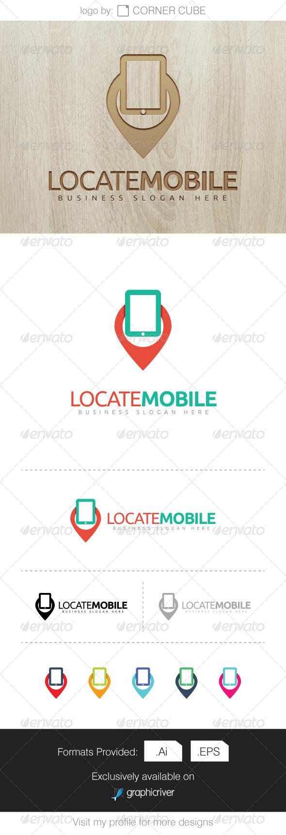 GraphicRiver Locate Mobile Logo 7755604