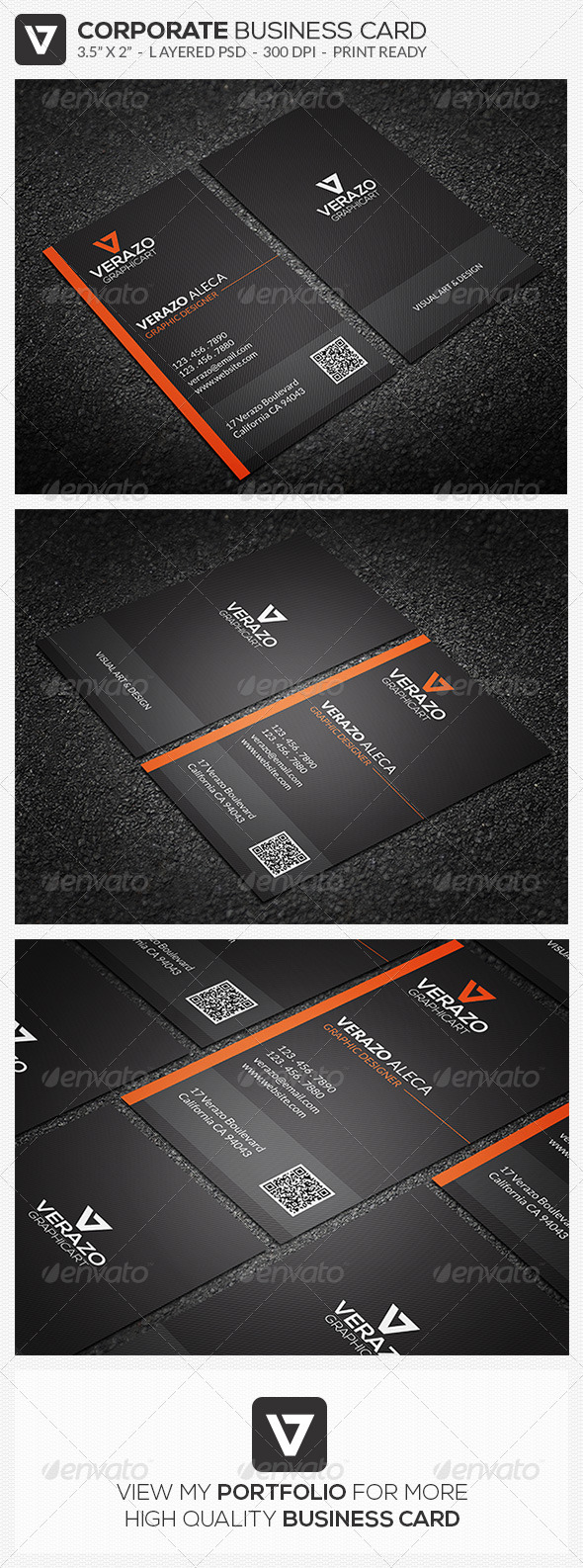GraphicRiver Modern Stylish Business Card 37 7856951