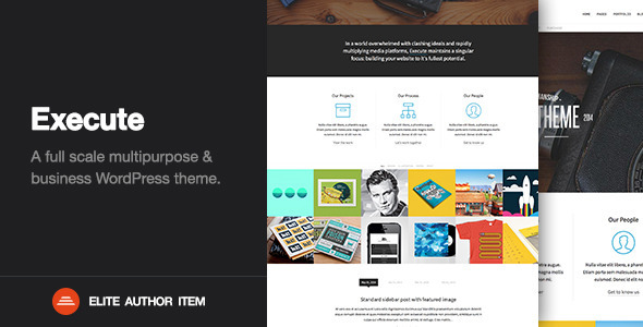 Execute - Creative Multi-Purpose WordPress Theme - Corporate WordPress