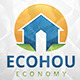 Eco House Logo Template - GraphicRiver Item for Sale