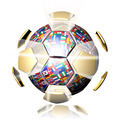 Soccer Ball World Cup with Flags  - PhotoDune Item for Sale
