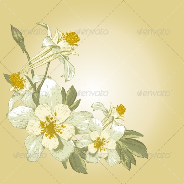 GraphicRiver Floral Design Element 7857454