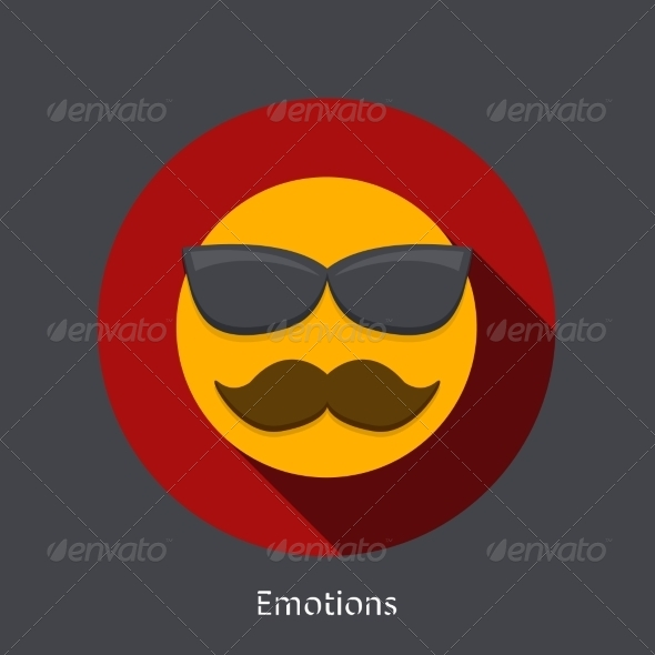GraphicRiver Vector Emotion Flat Icon 7857512