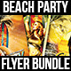 Beach Party Flyer Bundle - GraphicRiver Item for Sale
