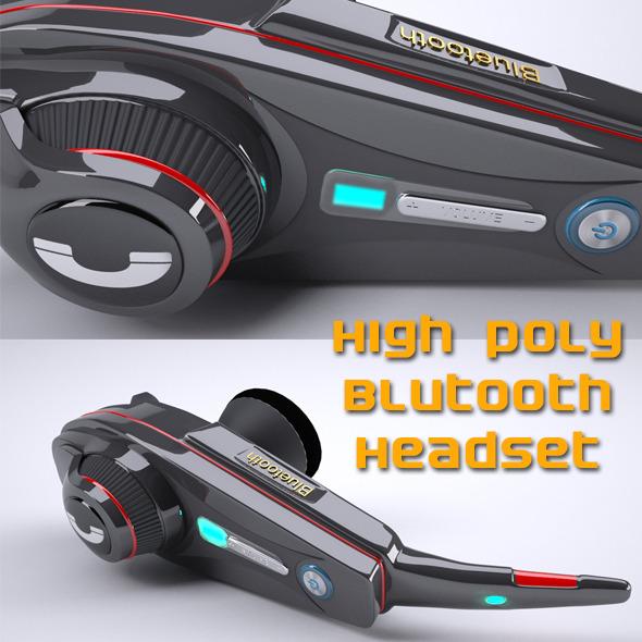 3DOcean Bluetooth handset 7857764