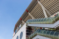 Exterior of a Dutch soccer stadium at Amsterdam - PhotoDune Item for Sale