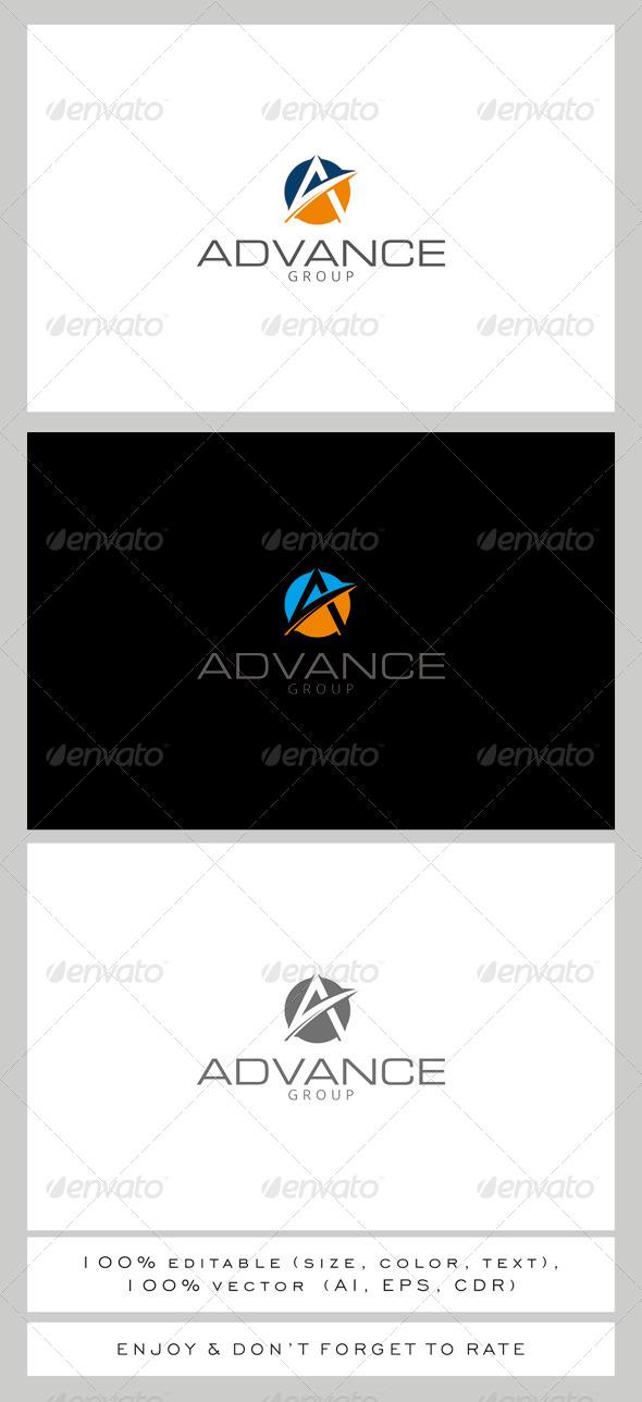 GraphicRiver A Advance Logo 7842193