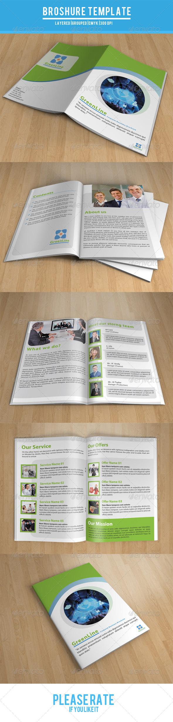 GraphicRiver Bifold Business Brochure-V26 7857815