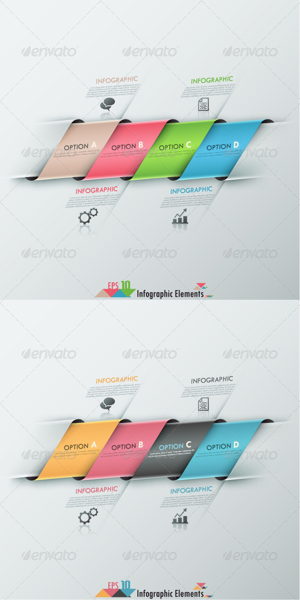 GraphicRiver Modern Infographic Options Banner 2 Versions 7829840