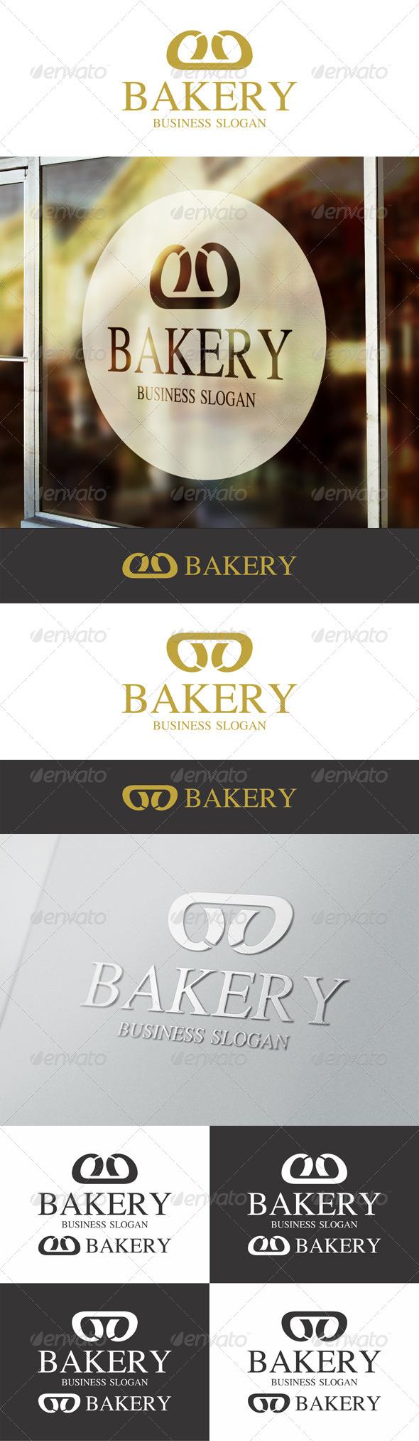 Bakery Bread Logo Template - Symbols Logo Templates