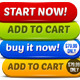 Ecommerce Big Buttons Set - GraphicRiver Item for Sale