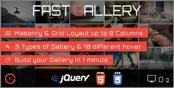 CodeCanyon Fast Gallery Premium Wordpress Plugin 7858328