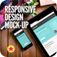 Responsive Screens Device Mock-Up - GraphicRiver Item for Sale