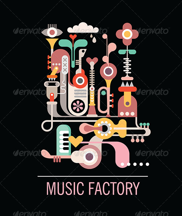 GraphicRiver Music Factory 7824326