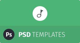 WebTunes PSDs