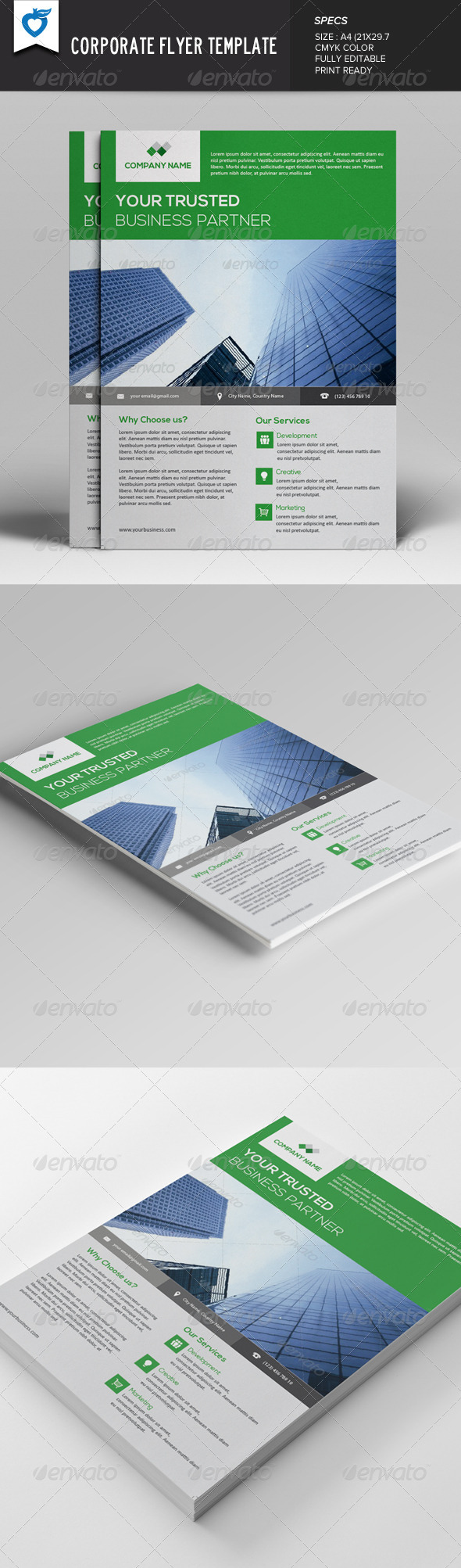 GraphicRiver Corporate Flyer v2 7844722