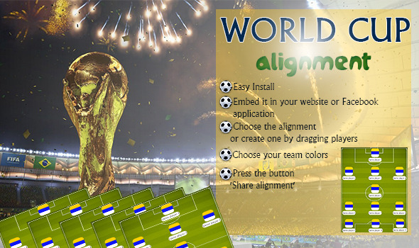 CodeCanyon World Cup Alignment Aplication Viral 7859663