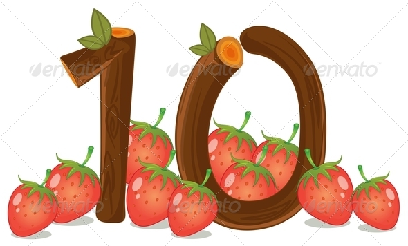 GraphicRiver Ten Strawberries 7859667