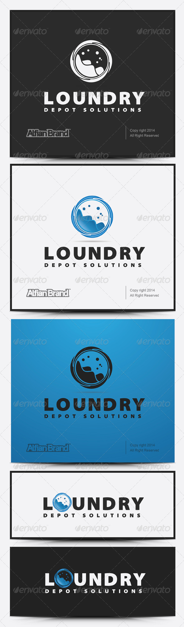 GraphicRiver Laundry Logo 7859680