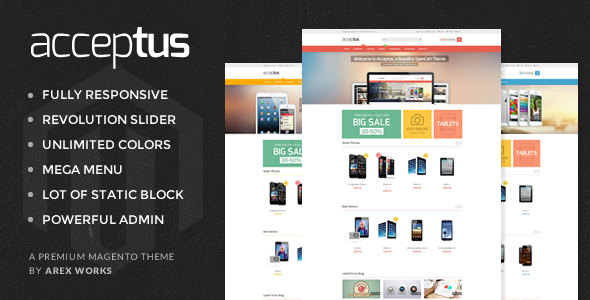 AM Acceptus - Successfully Store Magento Theme - Magento eCommerce