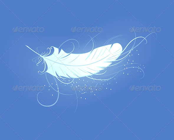 GraphicRiver Angel Feather 7859832