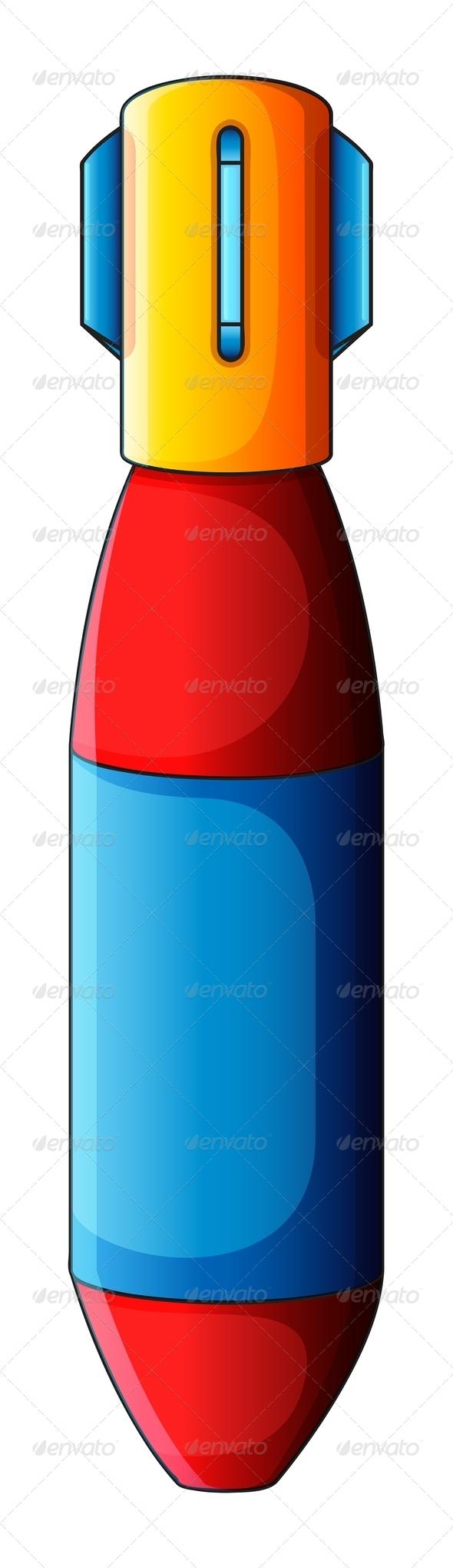 GraphicRiver Colourful Bomb 7860036