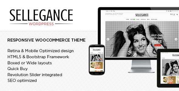 ThemeForest Sellegance Responsive WooCommerce Theme 7860143