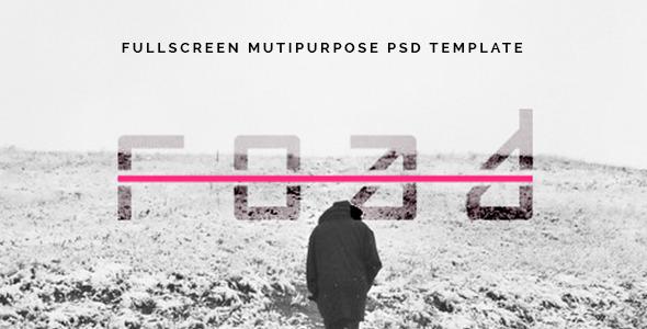 ThemeForest Road Fullscreen Mutipurpose PSD Template 7860300