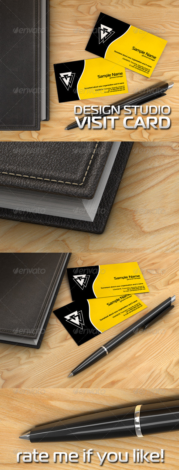 GraphicRiver Visit Card Design Studio 7787352