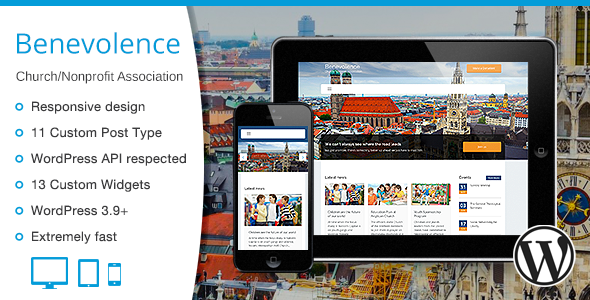ThemeForest Benevolence Church Nonprofit Association 7860360