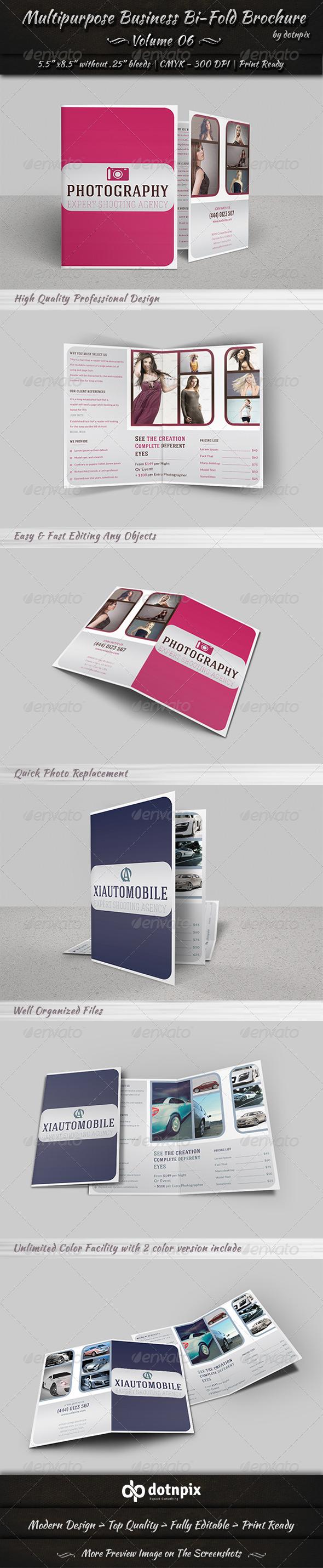 GraphicRiver Multipurpose Business Bi-Fold Brochure Volume 6 7860425