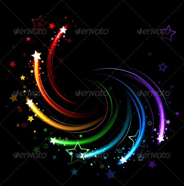 GraphicRiver Colored Sparks 7860444