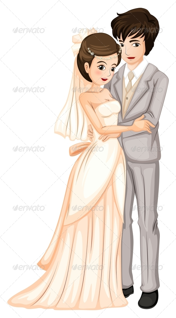 GraphicRiver Newly-Wed Couple 7861584
