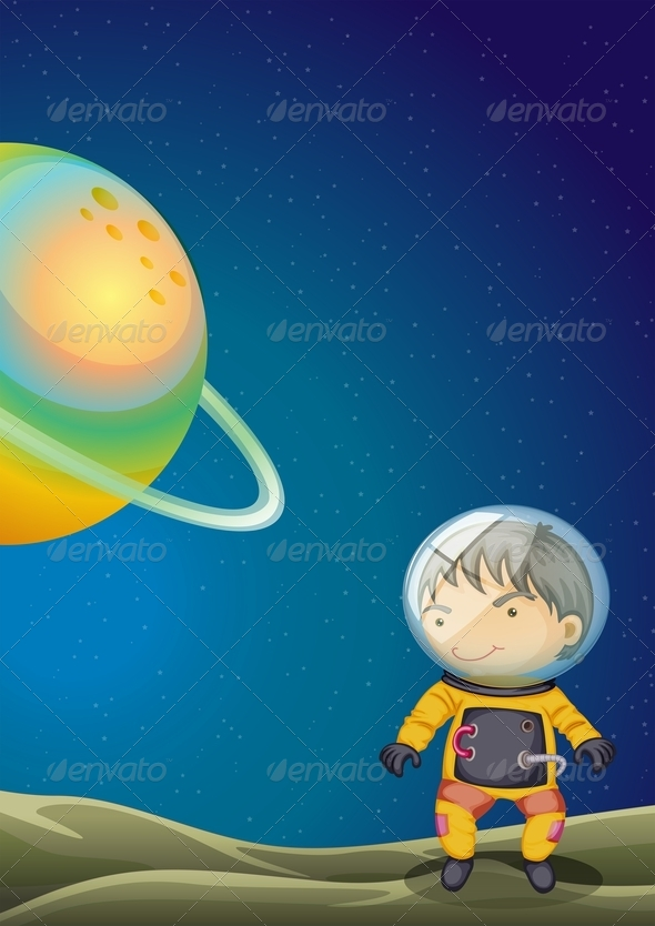 GraphicRiver Young explorer 7861994