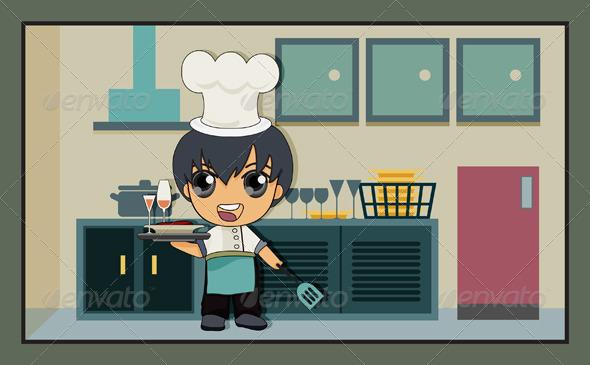 GraphicRiver Kitchen 7862076
