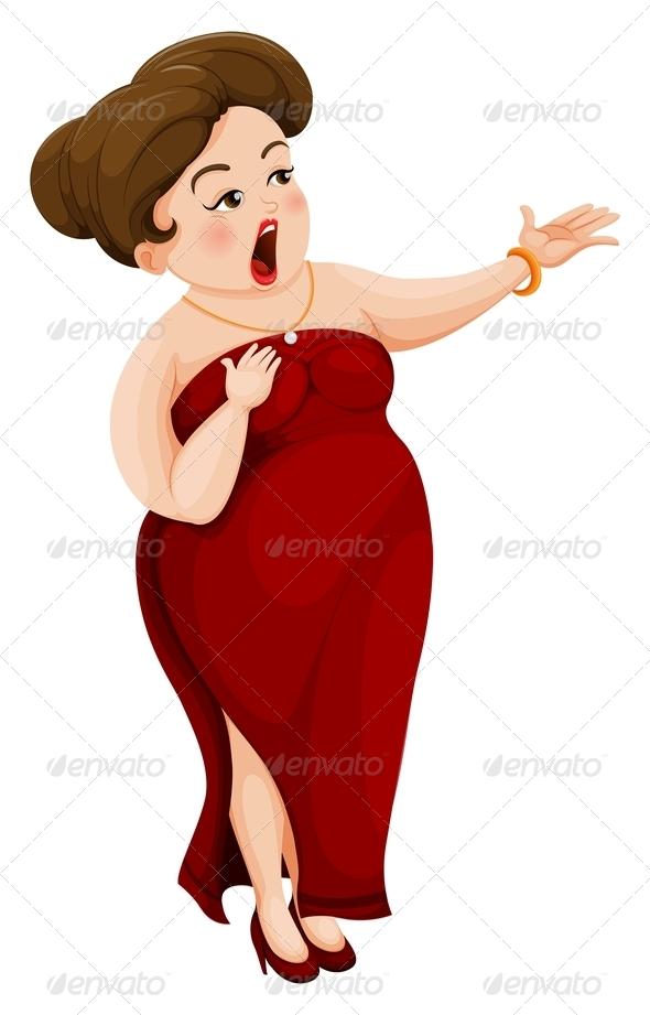 GraphicRiver Opera Singer 7862353