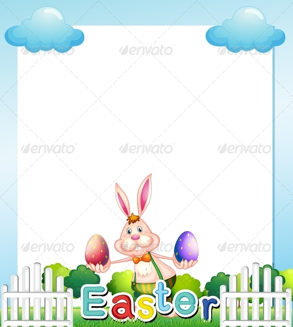 GraphicRiver Easter empty card template 7862539