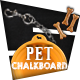 Chalkboard Pet Magazine - GraphicRiver Item for Sale