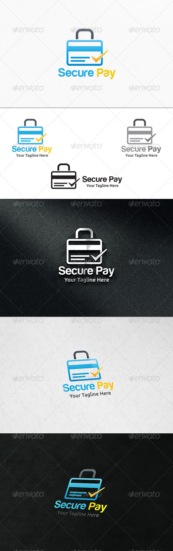 GraphicRiver Secure Pay Logo Template 7862847