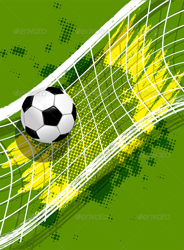 GraphicRiver Soccer Background 7863010