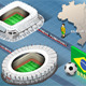 Isometric Stadium of Recife and Belo Horizonte - GraphicRiver Item for Sale