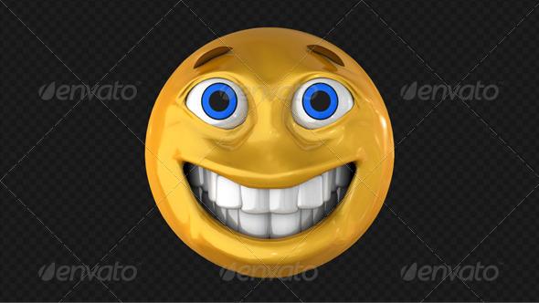 GraphicRiver Smiley 3D 7863051