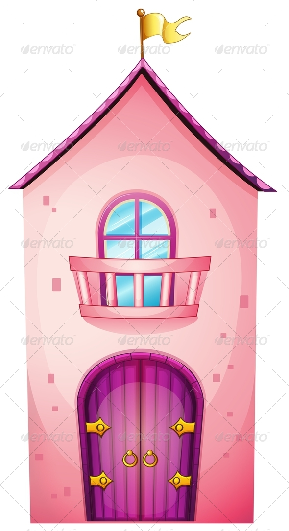 GraphicRiver Pink castle 7863690