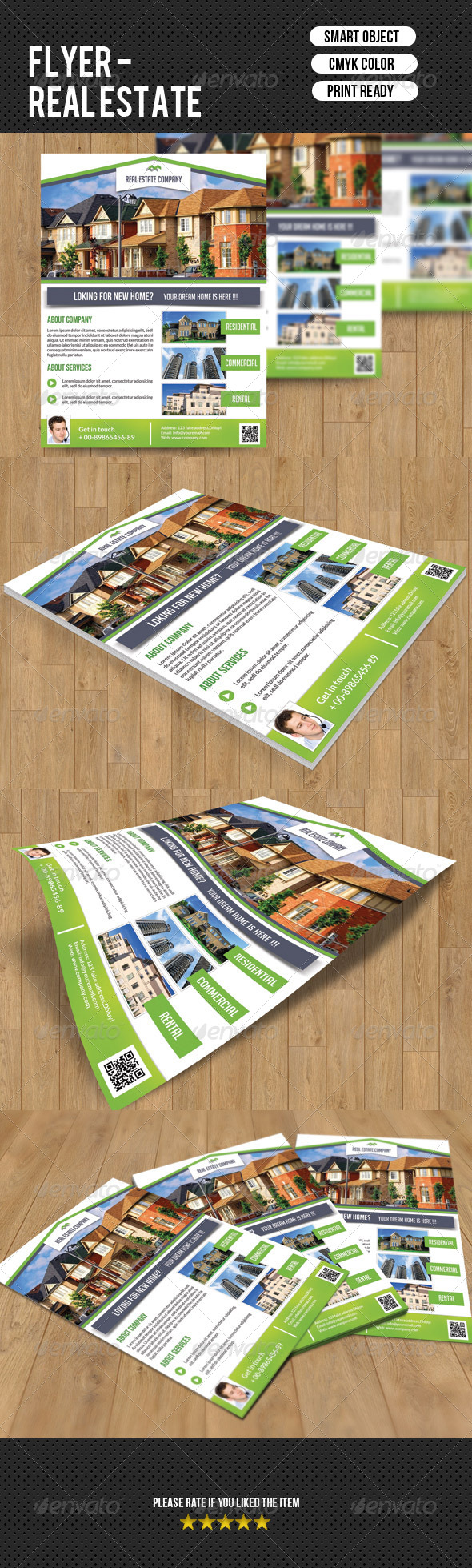 GraphicRiver Real Estate Flyer-V45 7863843