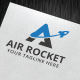 Air Rocket Logo Template - GraphicRiver Item for Sale