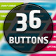 Mobile App Buttons - GraphicRiver Item for Sale