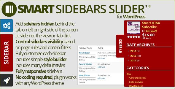 CodeCanyon Smart Sidebars Slider 7864196