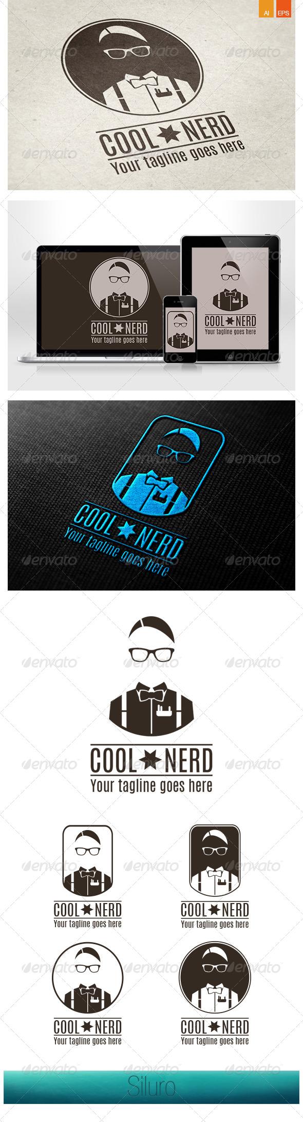 GraphicRiver Cool Nerd Logo 7864410